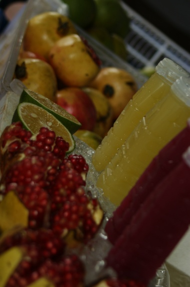 Świeżutki sok z granata lub limonki - Bangkok - Tajlandia