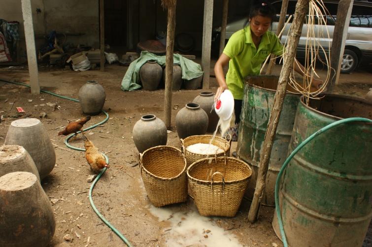 Lao lao - Migawka z Laosu - Laos