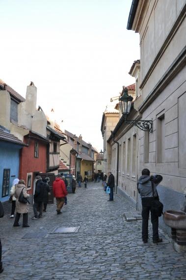 Złota uliczka...  - Praga - Czechy