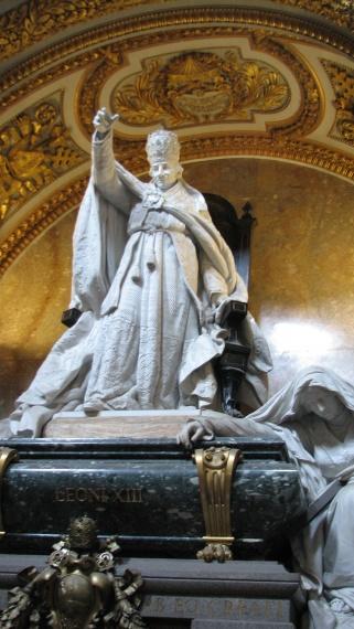 Grób Leona XIII - Rzym - Włochy