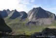 W drodze do plaży Horseidvika - Lofoty - Norwegia