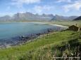Widok na Sandbotnen - Lofoty - Norwegia