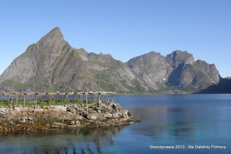 Okolice Reine - Lofoty - Norwegia