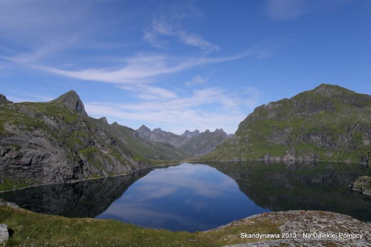 W drodze na Hermansdalstinden - Lofoty - Norwegia