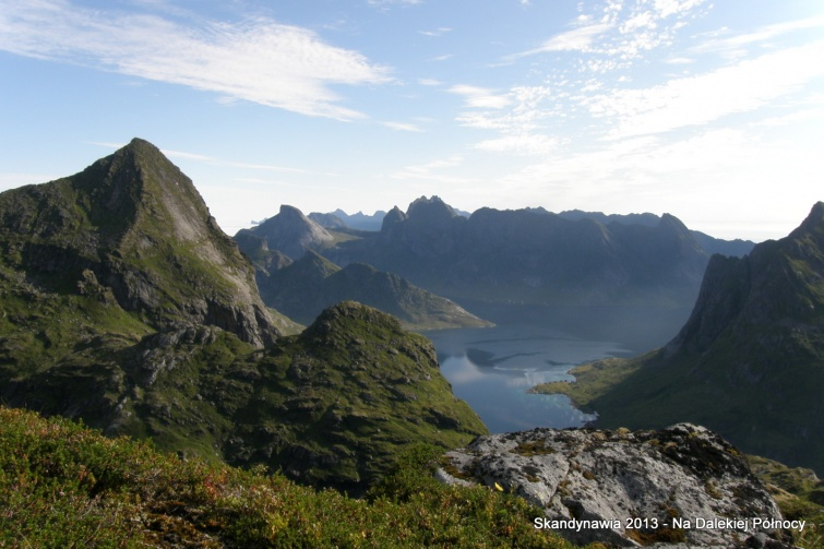 Podejście na Hermansdalstinden - Lofoty - Norwegia
