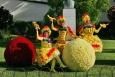 Festa da Flor, Festiwal Kwiatów, Funchal, kwiaty, Madeira, Madera - Festa da Flor  - wydarzenia - Portugalia