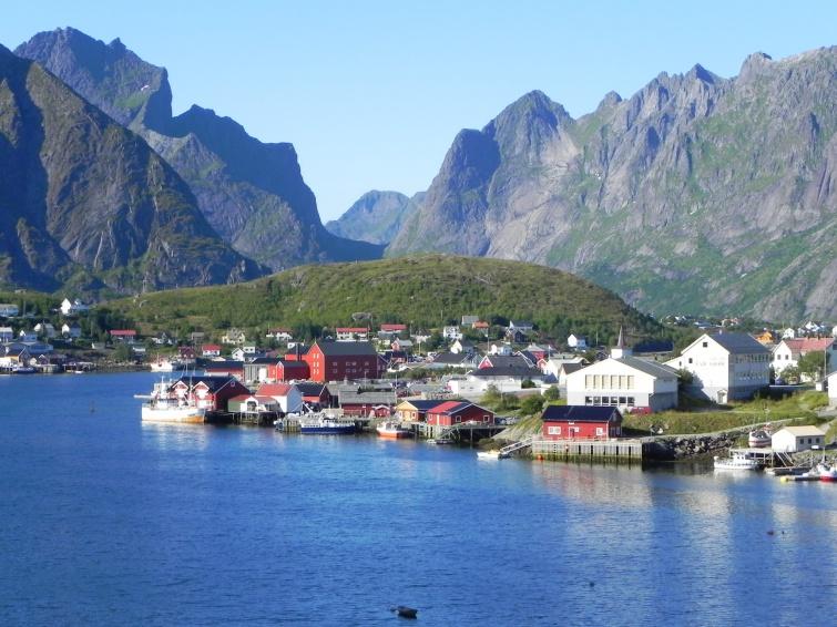 Osada rybacka Reine  - wycieczka objazdowa - Norwegia