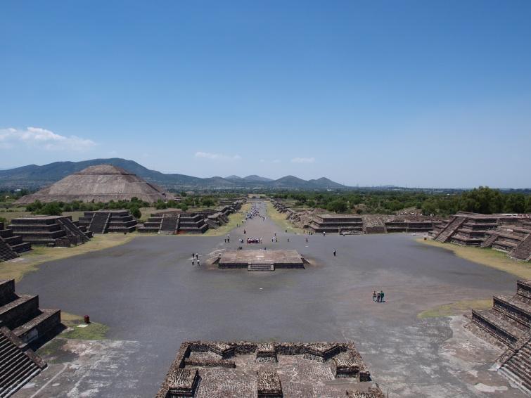 Teotihuacan - Ciudad Mexico - Meksyk