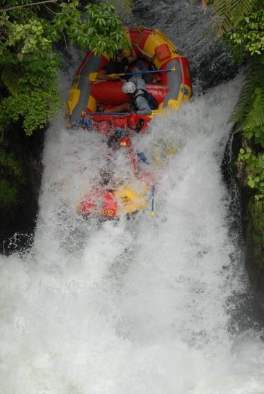 Wodospad Kaituna - Północna Wyspa - Nowa Zelandia