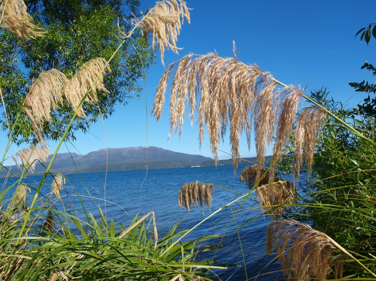 Mount Tarawera - Północna Wyspa - Nowa Zelandia