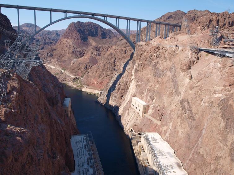 Hoover Dam, AZ - South West - USA