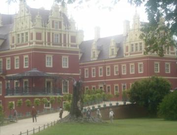 Zamek w Badmuskau - Park Mużakowski - Niemcy - 881