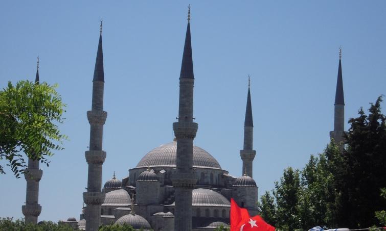 Błekitny Meczet - Istambuł - Turcja