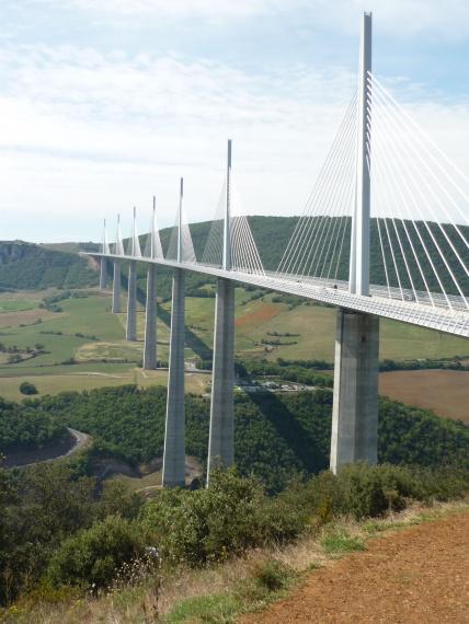 Viaduc De Millau - Aveyron - Francja