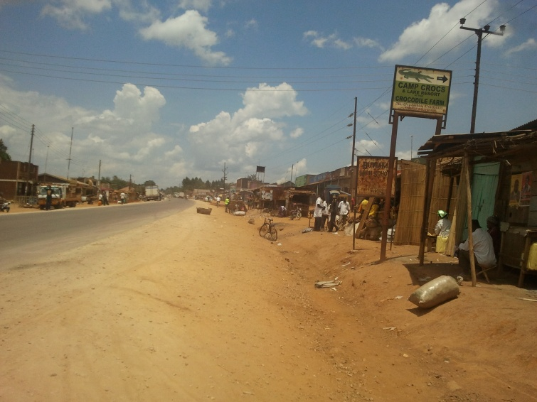 Kampala / równik - Uganda
