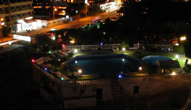 Widoczek z okna hotelu - Egipt – relacje z podróży