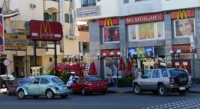 Hurghada, MC Donald - Egipt – relacje z podróży