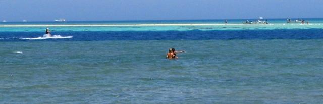 Plaża hotelu Megawish - Egipt