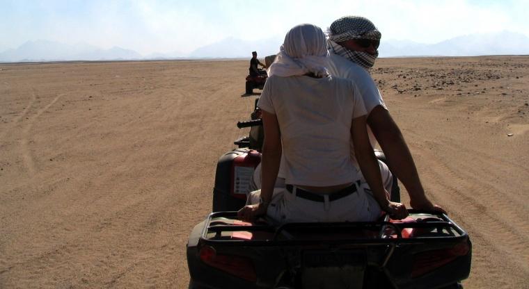 Quady na pustyni - Egipt – relacje z podróży