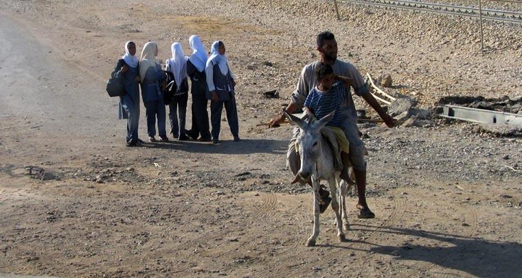 Scenka z drogi - Egipt – relacje z podróży