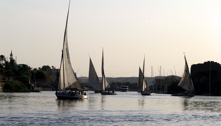 Rejs Feluką - Egipt