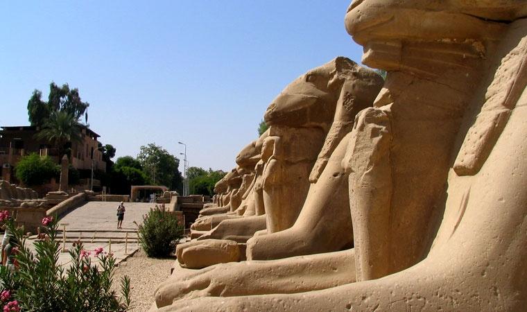 Aleja Sfinksów - Egipt