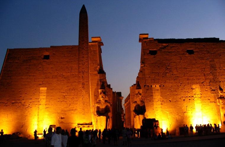 Świątynia w Luksorze - Egipt