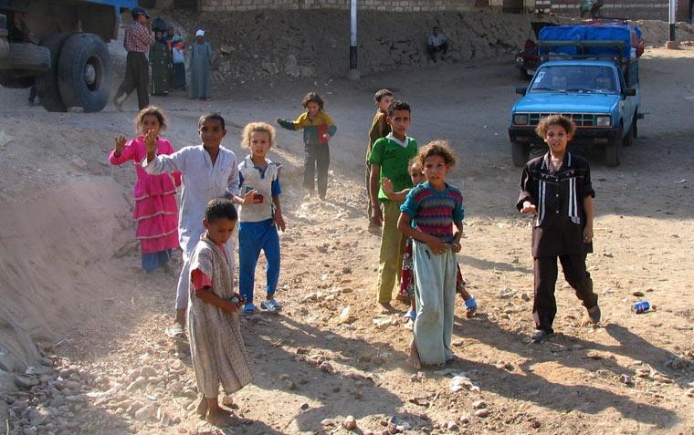 Biedne dzieci - Egipt