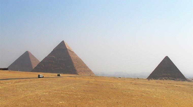 Piramidy - Egipt - Egipt – relacje z podróży