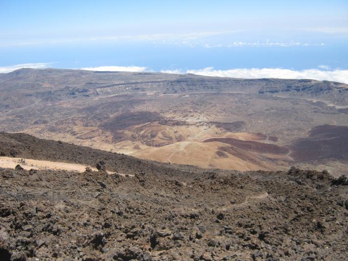 Teneryfa, wulkan  Teide  - Hiszpania