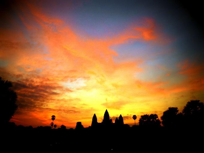 Angkor Wat - Kambodża – relacje z podróży