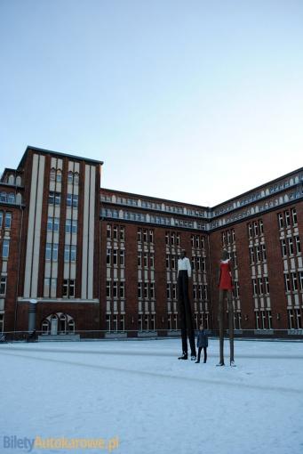 Hamburg - centralna biblioteka - Niemcy