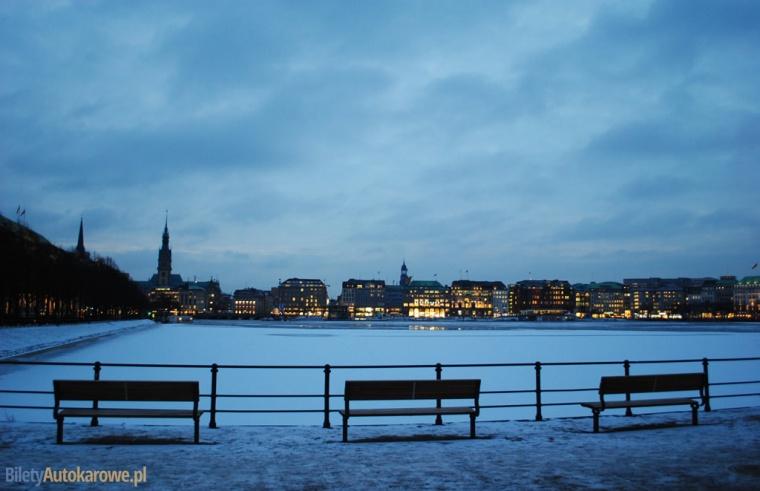 Hamburg - Binnenalster - Niemcy